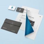 Araar Link - Basic Stationery Branding Mockup
