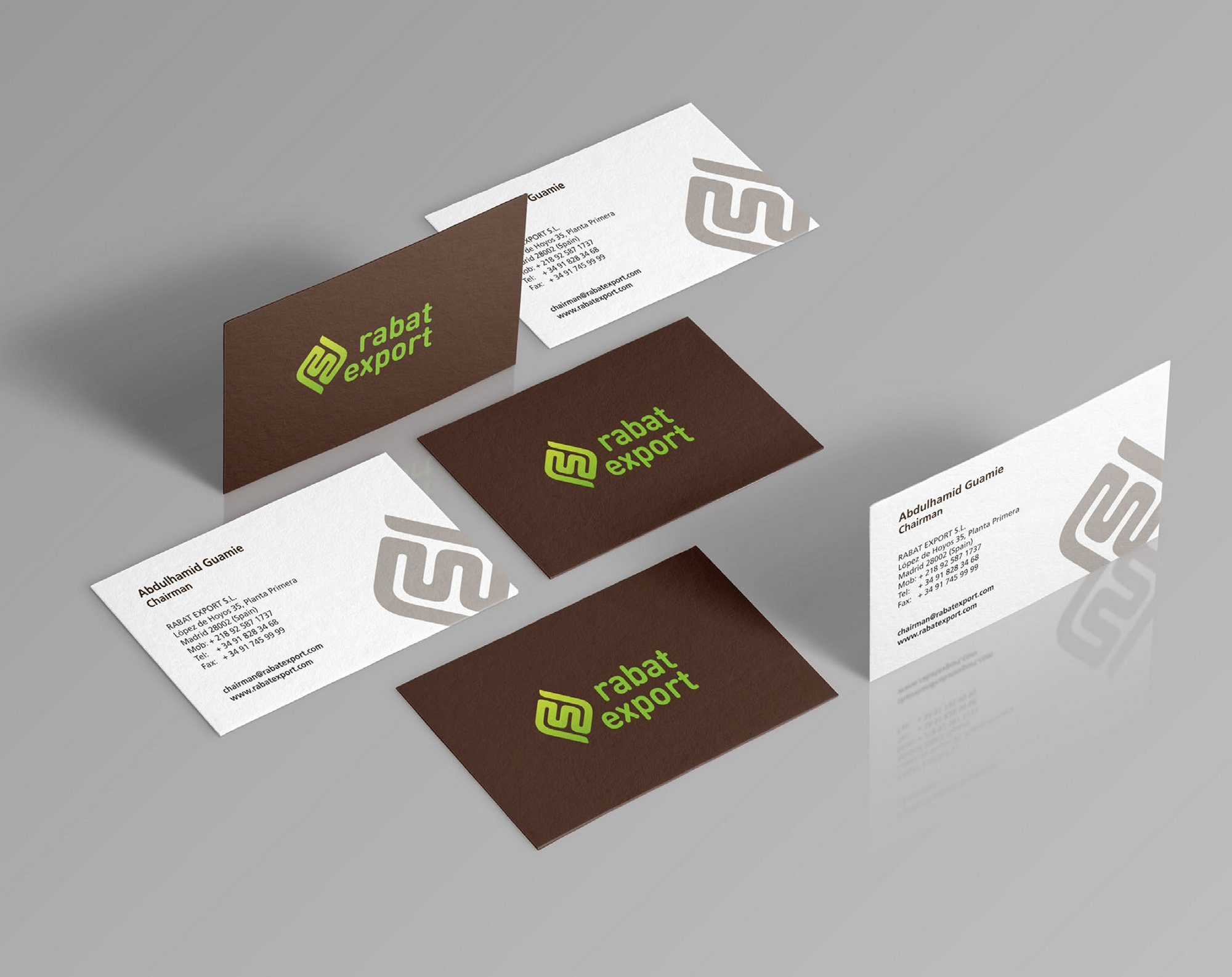 Rabat Export Business Card-Design