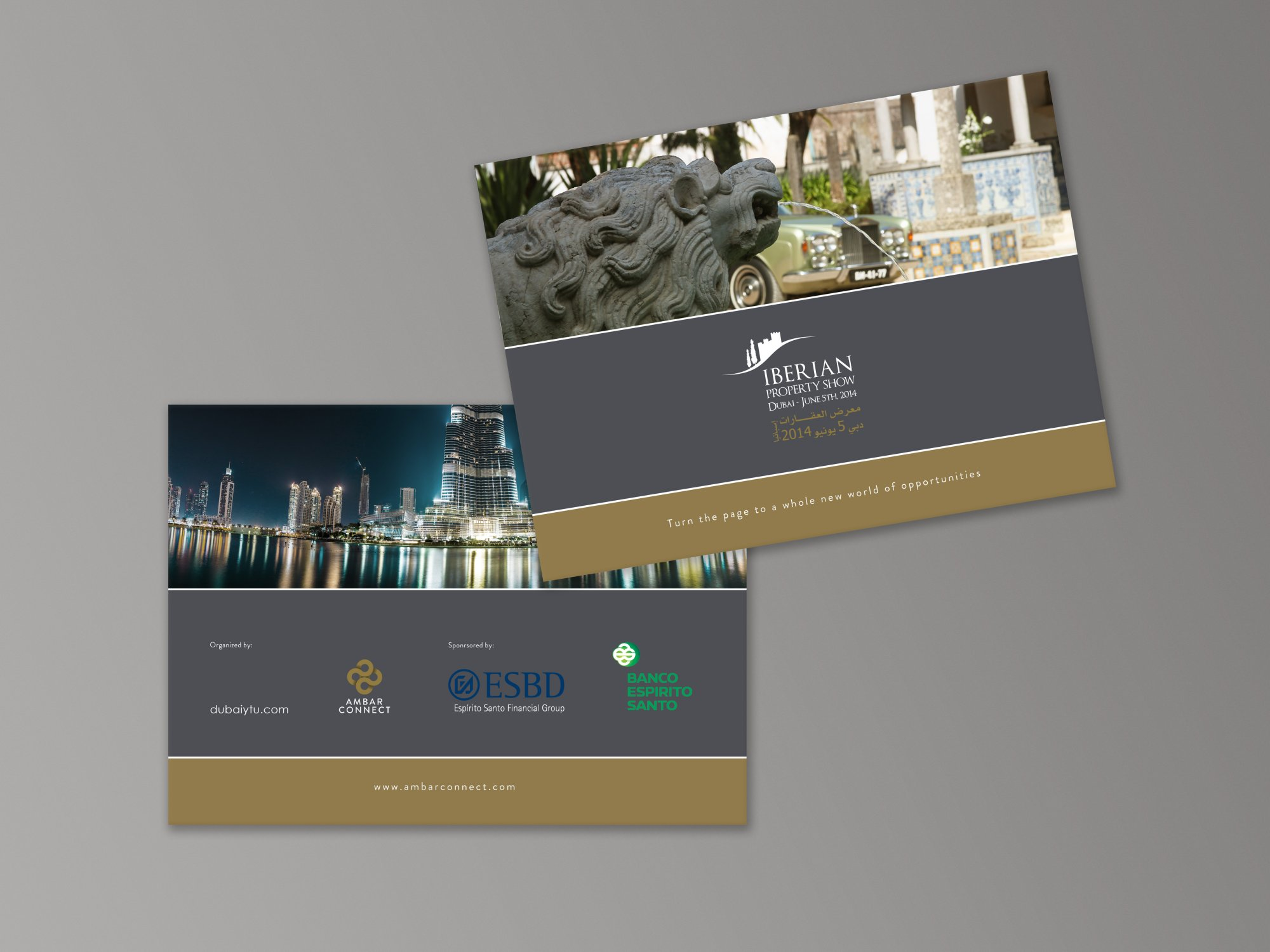 Iberian Property Show - Brochure Design