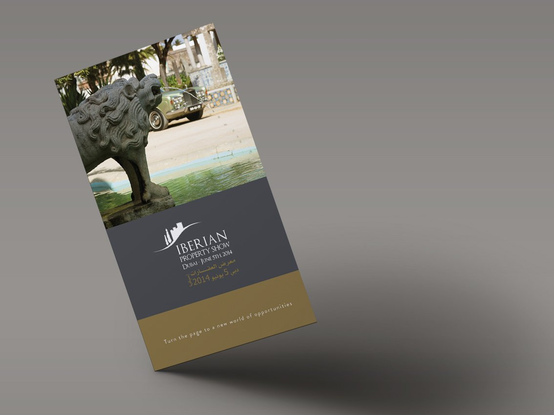 Iberian Property Show - Flyer Design