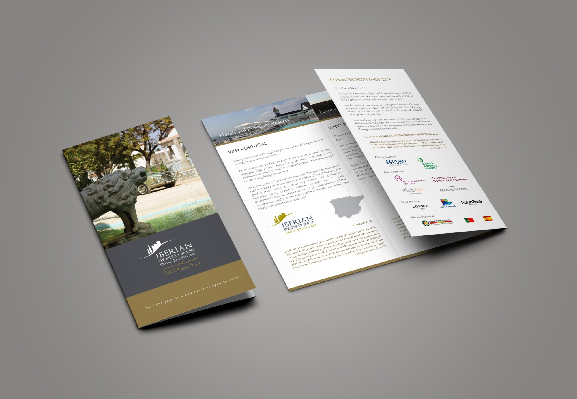Iberian Property Show - Triptico Design