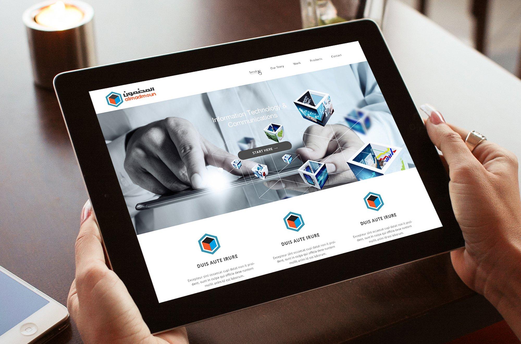 Al Madmoun Web Design